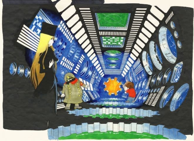 「新銀河鉄道999電車」は、内装もより凝ったものになるという  (C)Leiji Matsumoto