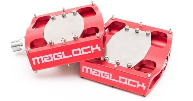立ちゴケしない自転車用ペダル「MagLOCK(マグロック)」