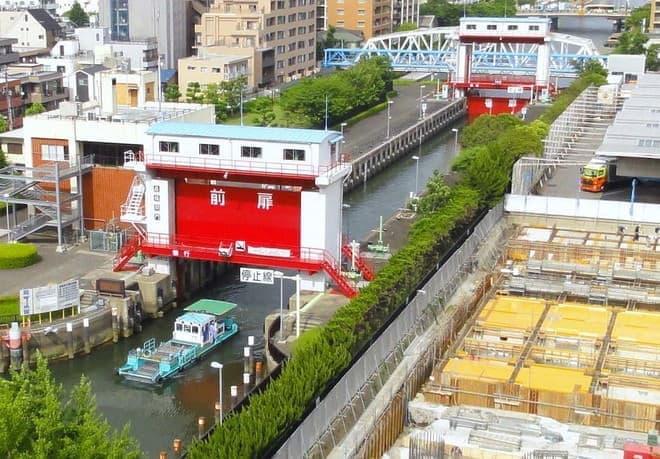 東京都いわく「ミニパナマ運河」、うむむ