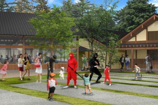 忍者をテーマにした観光施設「忍野 しのびの里」、今秋オープン