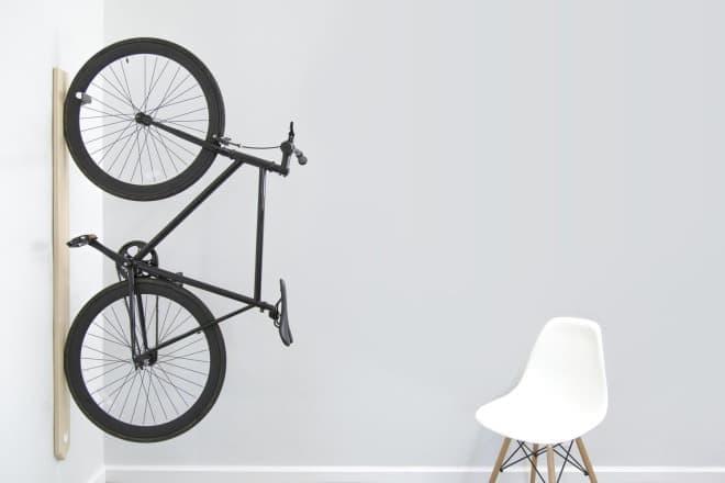 自転車を宝物のように飾ることができる