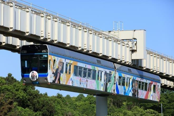 ラッピング列車  (C)渡航、小学館/やはりこの製作委員会はまちがっている。続