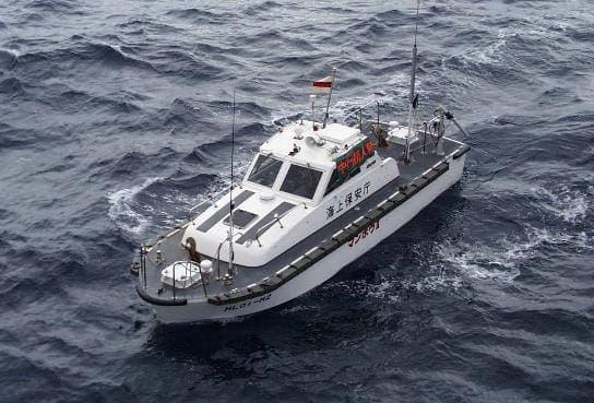 マンボウII(写真提供:海上保安庁)