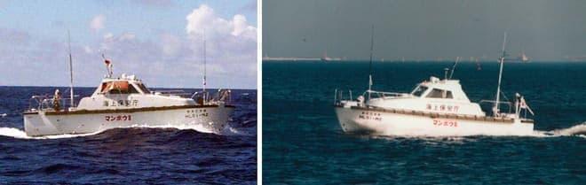 マンボウIIは後継と言うべき特殊搭載艇(写真提供:海上保安庁)