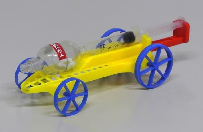 空気で走るエアチャージカー(写真提供:トヨタ博物館)