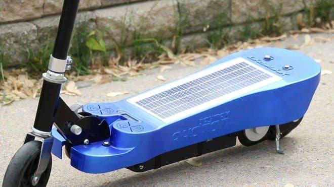 太陽電池は約17時間で内蔵バッテリーを満充電可能