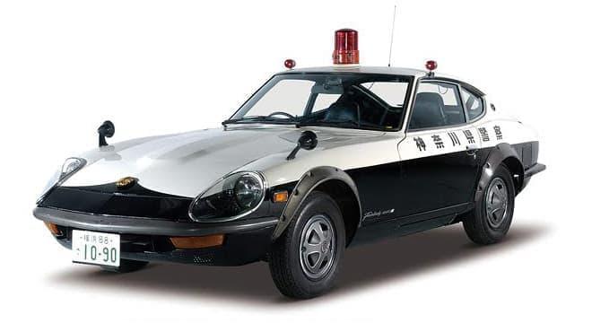 フェアレディZのパトカー、「はたらくクルマ展」で見学できます