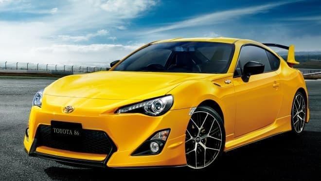 """カスタマイズカー「86 GT""""Yellow Limited エアロパッケージ""""FT」"""