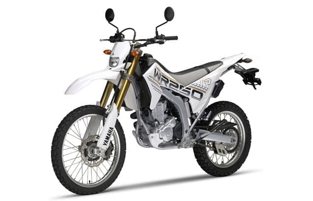WR250R、WR250Xの2016年モデル発表  (画像はWR250R パープリッシュホワイトソリッド)