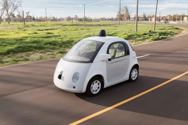 Google(グーグル)の自動運転車にはステアリングもペダルもない…