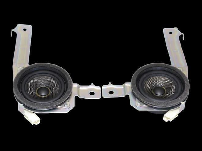165mmドアサイドカーボンコーンウーファー(画像出典:CUSCO)