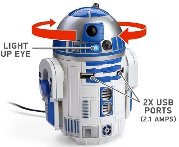 「R2-D2 USBカーチャージャー」