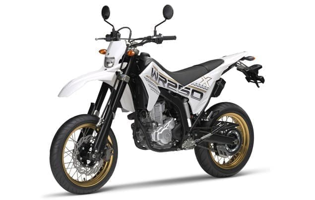 WR250X 2016年モデル  (パープリッシュホワイトソリッド1)