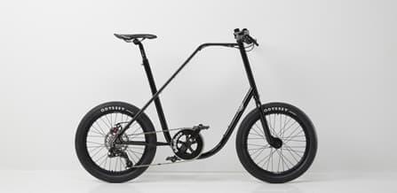 ミニマリストデザインの街乗り用自転車「BIG20」