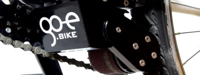 愛車を電動アシスト自転車にするgo-eの「ONwheel」