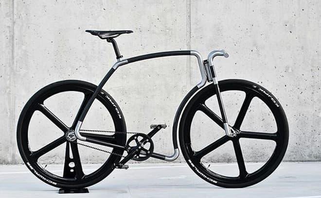シートチューブの無い自転車「Viks」に  カーボンファイバーフレーム版「Viks carbon」登場