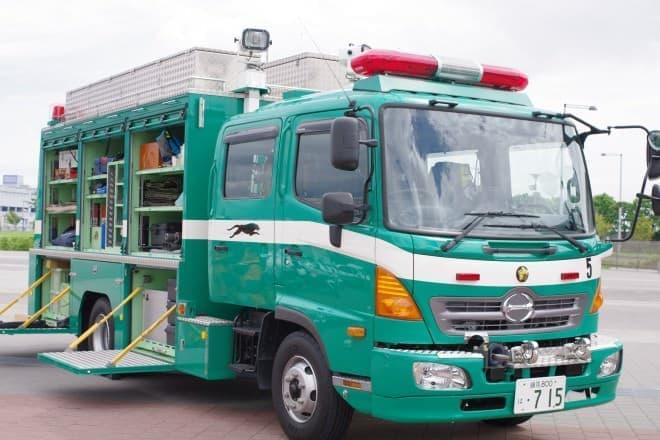 警視庁の機動救助車