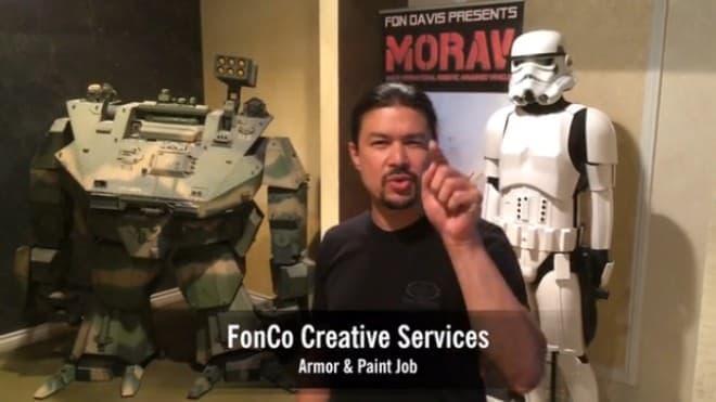 「Mk.II」をハリウッドレベルのルックスに仕上げると誓うFonCo Creative Services