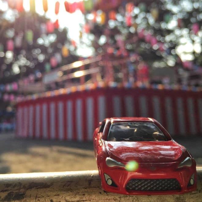 お祭りにも(写真提供:トヨタ自動車)