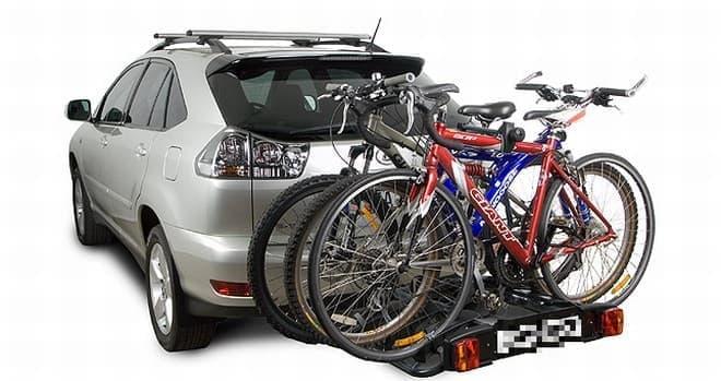 一般的なサイクルキャリアの例