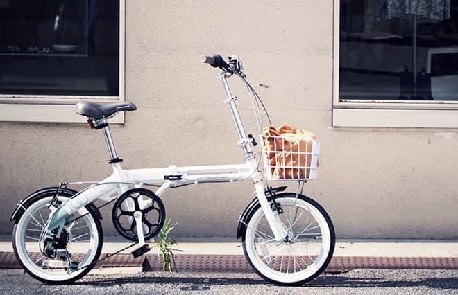 16インチサイズの折りたたみ自転車「SERENO(セレーノ)」