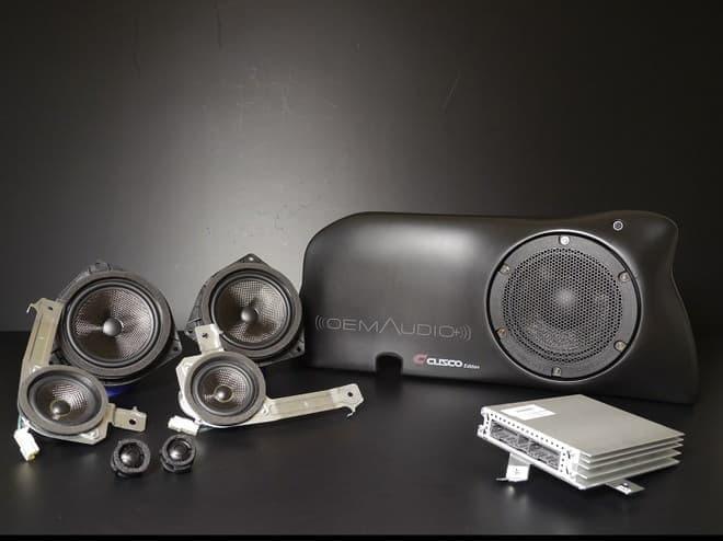 86&BRZ専用オーディオシステム(画像出典:CUSCO)