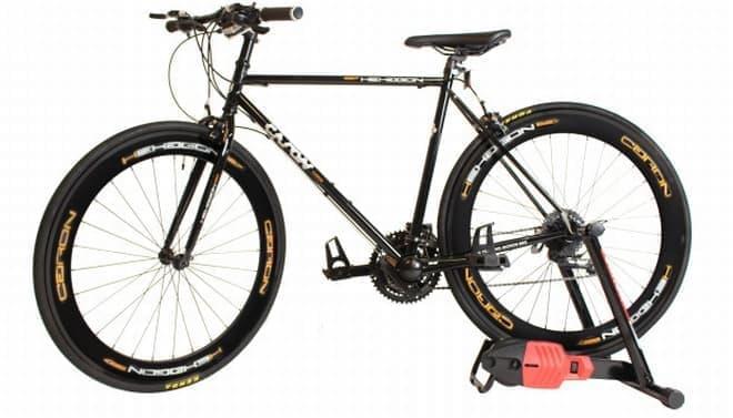 6通りの漕ぎ方が可能な自転車「Caron Bicycle」