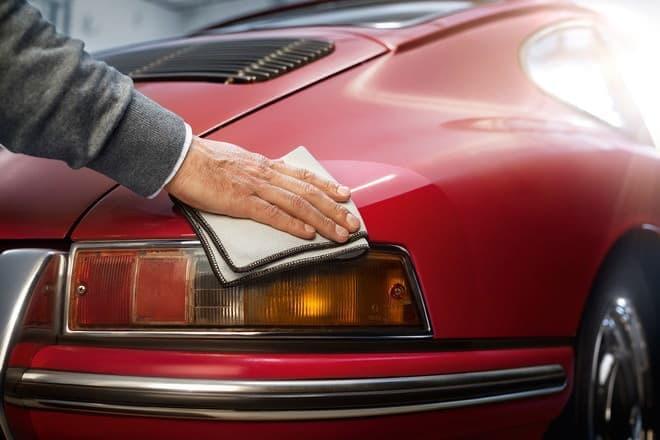 ポルシェのクラシックスポーツカーのために公式カーケアセットが登場