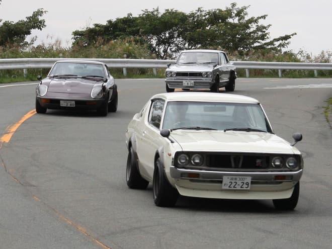 旧車で箱根・伊豆をツーリング