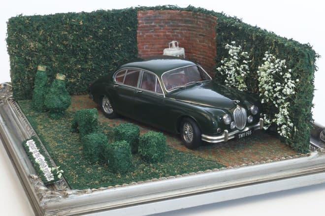 櫻和春「Jaguar in the english garden.」