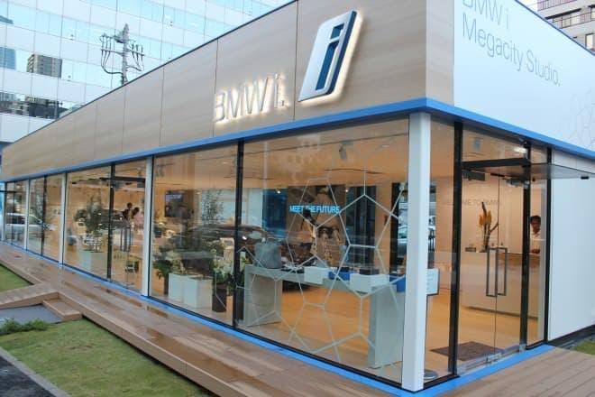 BMW i8にいつでも会えるショールーム「BMW i Megacity Studio」オープン