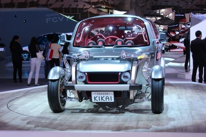 トヨタのコンセプトカー「KIKAI」