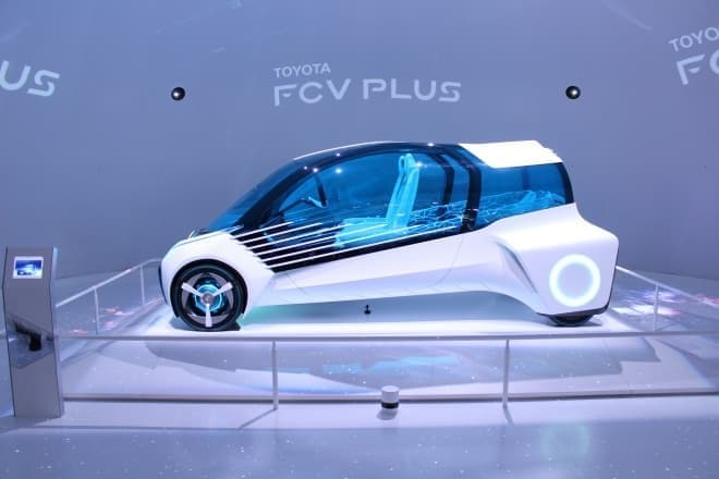 「FCV Plus」の全長は3,800ミリ