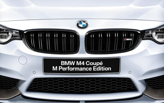 M4 Coupe M Performance Editionのエクステリア