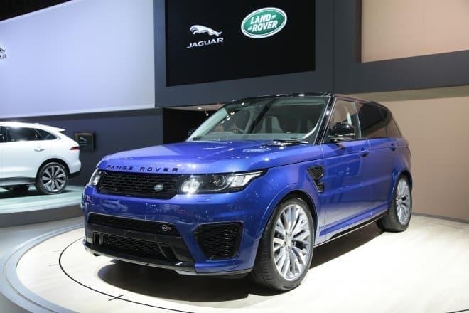 Range Rover スポーツSVR