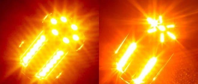左:カバーなし、右:カバーあり