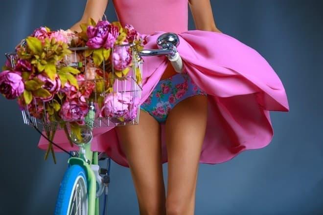 「Chamois Panties」なら、仕事で着るスカートやスラックスの下に穿ける