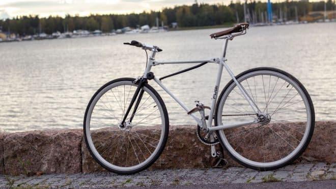 通常の自転車と同じサイズ&走行性能にこだわった