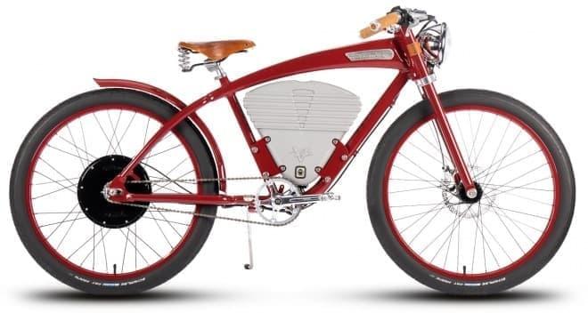 レトロでおしゃれな電動アシスト自転車 tracker 2016年モデル ん