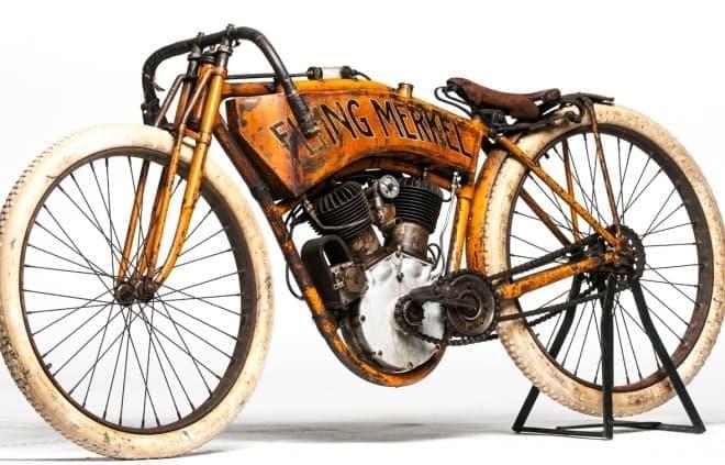参考画像:ボードトラックレースで使用された「ボードバイク」