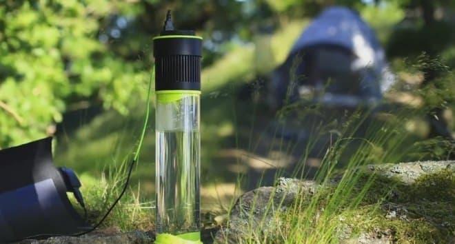 空気中の水分から飲料水を取り出せる