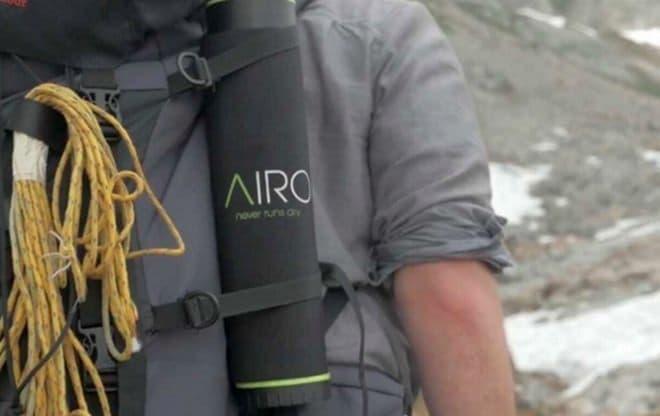 ハイキングなどで利用できる「Airo」