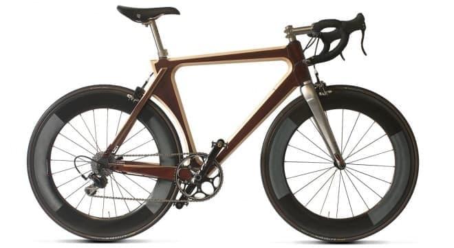 木製フレームのロードバイク「Ti XXII」