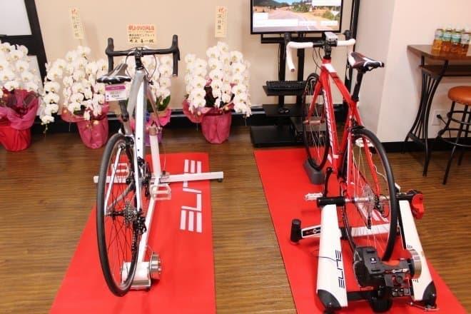 トレーニング・イベントスペースでは、ぺダリング教室などが開催される