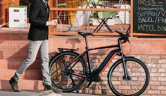参考画像:ドイツ「KALKHOFF」の電動アシスト自転車「INTEGRALE」  ドイツっぽい?
