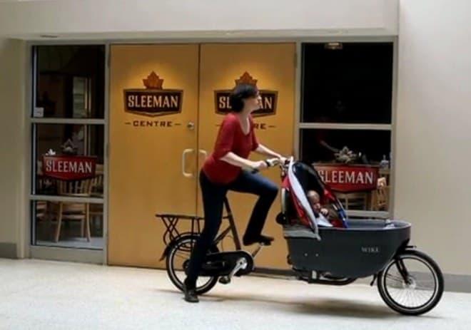 これで、自転車モードでの走行が可能に