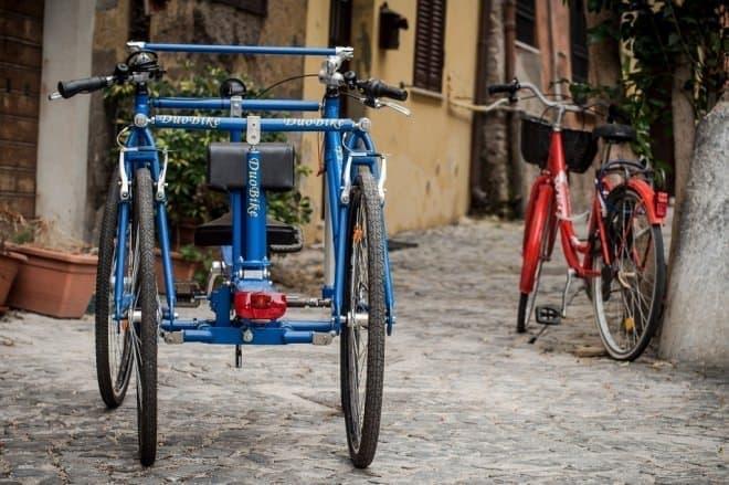 安全性、安定性を提供しつつ、走る楽しみも維持した4輪自転車「DuoBike」