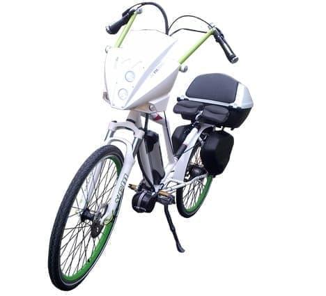 イタリア人の作った電動アシスト自転車「PMZERO」  「サイクロン」っぽい