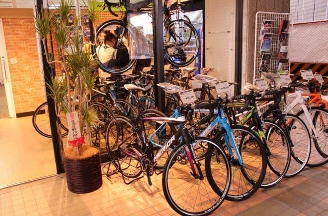 ロードバイク初心者にも優しいサイクルショップを目指す