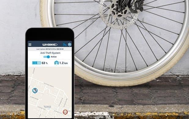 GPS/GSMシステムを活用した盗難防止機能を搭載